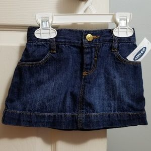 Old Navy Denim Skirt 12-18mo